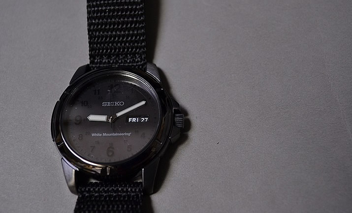 white mountaineering × SEIKO / exclusive watch